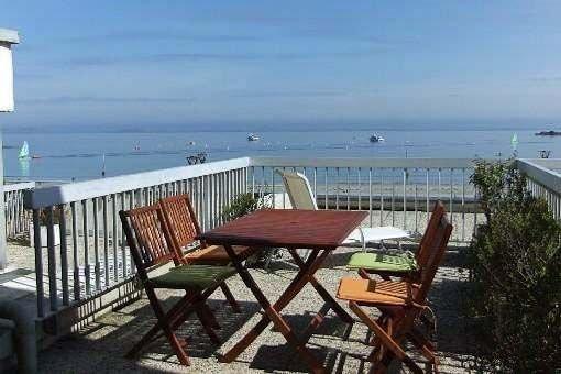 Appartement avec terrasse face aux 7 îles, location de vacances à Perros-Guirec