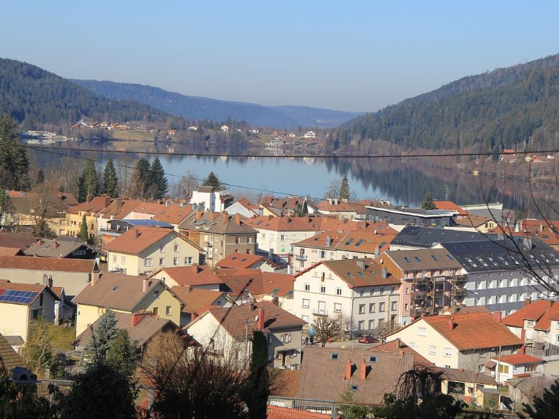 Gîte 3 étoiles dans Gérardmer à 5 min à pied du centre avec belle vue sur le lac, alquiler de vacaciones en Gerardmer