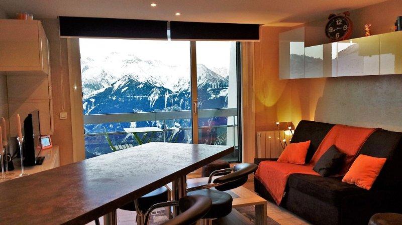 Au pied des pistes, à l'Alpe d'Huez, vacation rental in L'Alpe-d'Huez