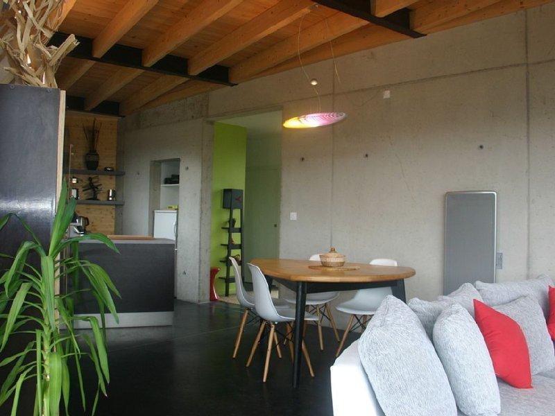 Maison d'architecte à 2 km d' Aubenas - Ardèche méridionale, holiday rental in Darbres