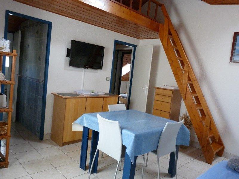 CONFORTABLE APPT 2 PIECES - ARZON- 100m des plages, vacation rental in Arzon