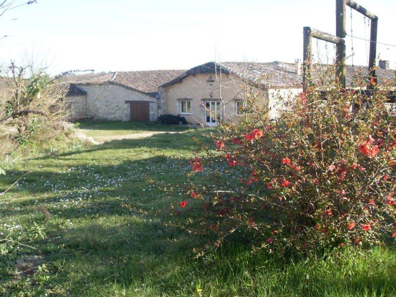 Grande maison de vacance avec piscine en périgord, vacation rental in Lot-et-Garonne