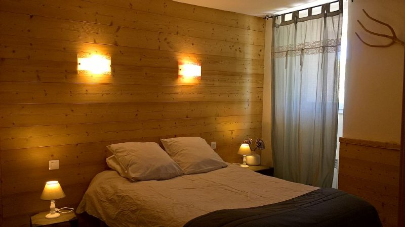 La chambre est son ambiance cosy