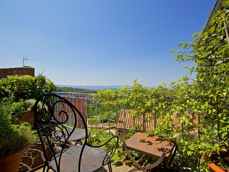 Authentic village house with sunny terrace, holiday rental in Gordes