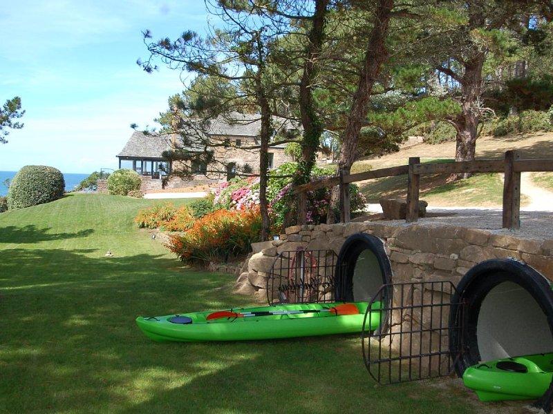 Les Gabelous, 9 personnes, accès plage et vue mer panoramique, alquiler de vacaciones en Finistere