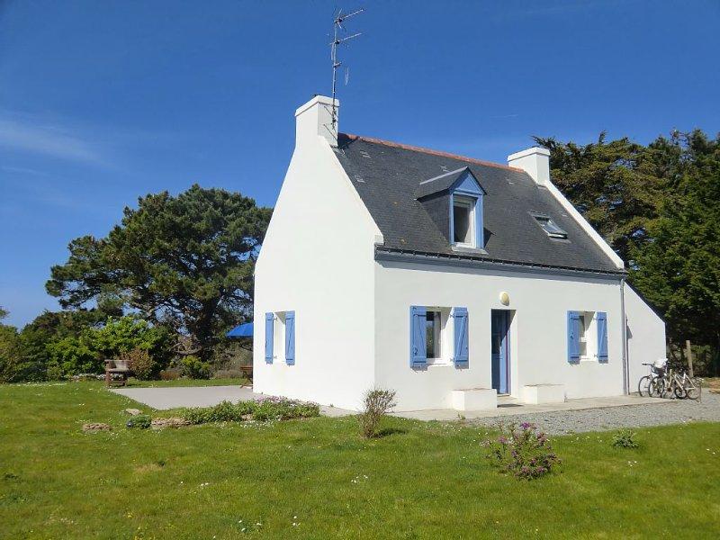 Une maison ilienne  de charme alliant confort, localisation  et fonctionnalité, location de vacances à Groix