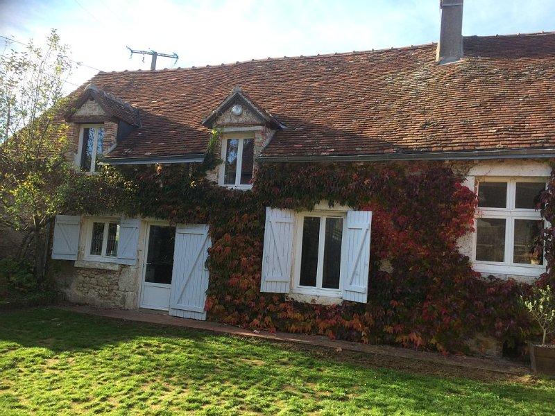 Authentique longère pleine de charme, entre châteaux Chambord, Cheverny et Blois, location de vacances à Mont-pres-Chambord