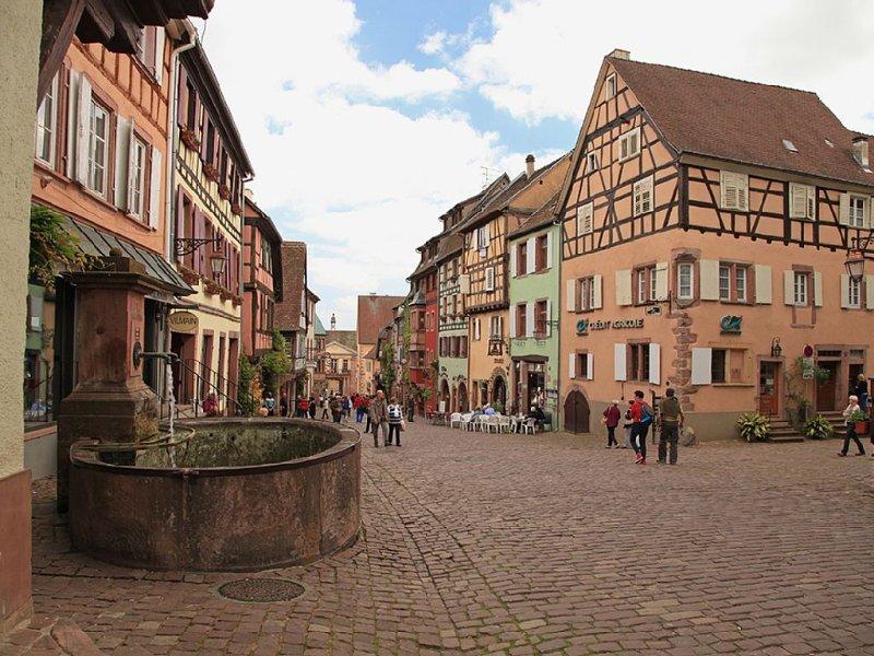 Gîte 'L'Ecrin' au cœur de Riquewihr 2-4 personnes, Ferienwohnung in Haut-Rhin
