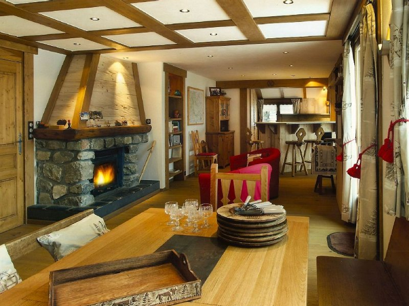 Chalet d'exception idéalement situé, holiday rental in Pralognan-la-Vanoise