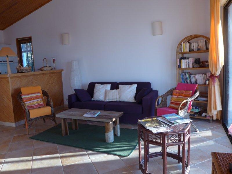 Villa 3ch. Coti chiavari. Vue Sanguinaires imprenable, couchers de soleil, holiday rental in Coti-Chiavari