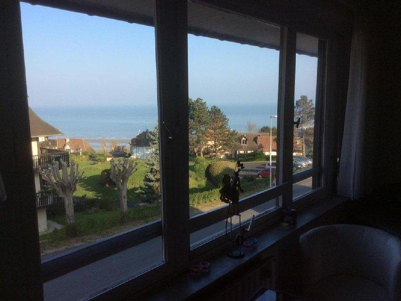 Appartement avec Vue Mer, location de vacances à Deauville