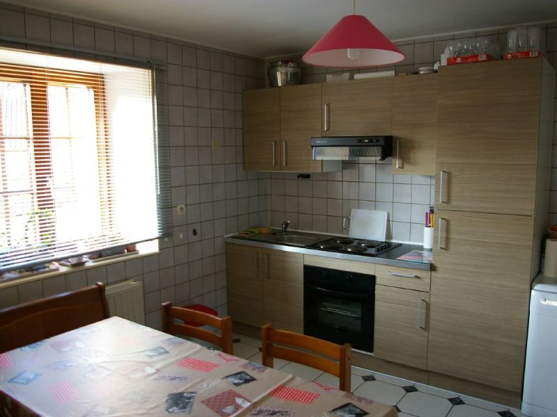 Apartment 6-10 p, quiet, close plants and nature Wifi, cleaning and sheets incl, holiday rental in Husseren-Wesserling