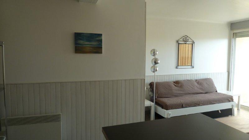 Appartement T2 (classé 3*), en front de mer, vue mer, Port-La-Nouvelle (aude), casa vacanza a Port La Nouvelle