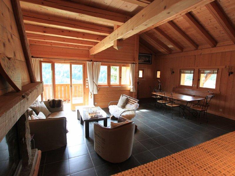 Charmant Chalet de standing 120 m2, location de vacances à Saint-Gervais-les-Bains