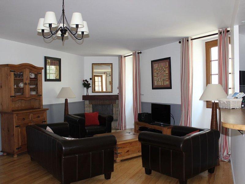 Belle maison de village au centre de Laruns - Haut débit Internet – semesterbostad i Pyrenees-Atlantiques