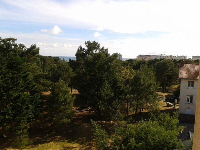 appartement T2 bis, 4 personnes, vue mer et pins, aluguéis de temporada em Les Sables-d'Olonne