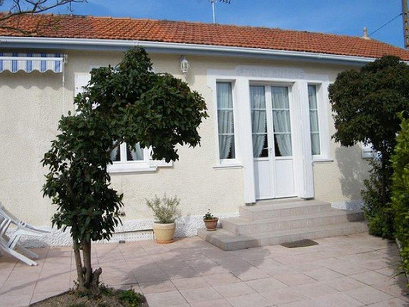 Maison de plain-pied de 76 m², location de vacances à Fouras