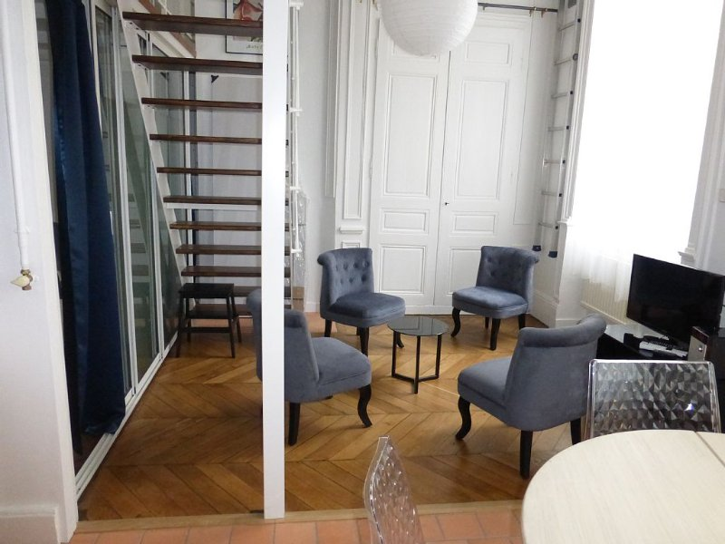 Au calme, dans un appartement clair au coeur de la presqu'île. Hyper centre., holiday rental in Lyon