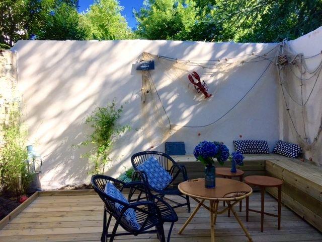 MAISON DE CHARME DINARD avec jardin , terrasse, patio. Proche plages, vacation rental in Dinard