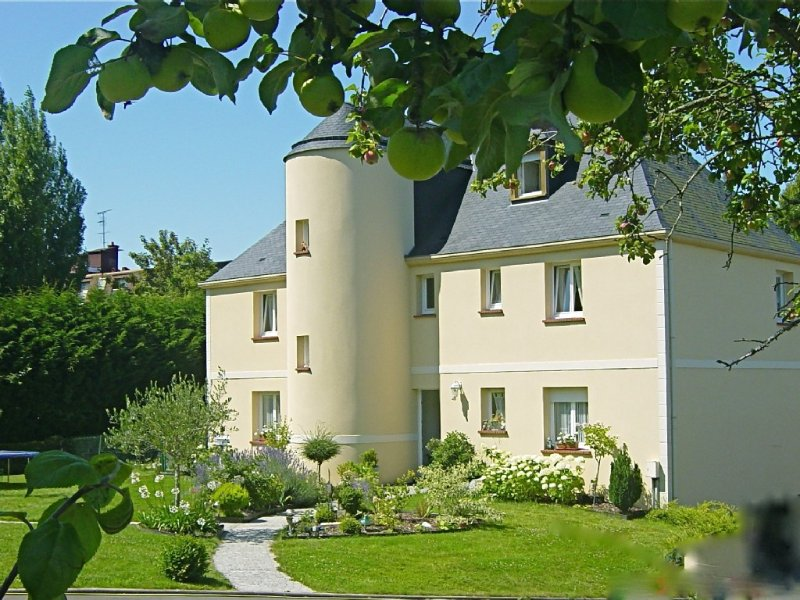 T2 de standing, calme, au vert, vue panoramique/mer TROUVILLE DEAUVILLE Normandi, alquiler de vacaciones en Calvados