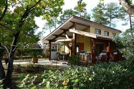 A l'amélie maison bois  tout confort entre océan Atlantique et forêt, holiday rental in Soulac-sur-Mer