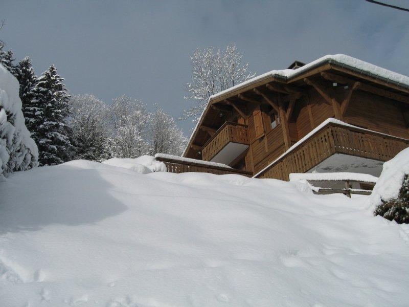 CHALET DANS SITE EXCEPTIONNEL A 300 m DES REMONTEES MECANIQUES, location de vacances à Saint-Gervais-les-Bains