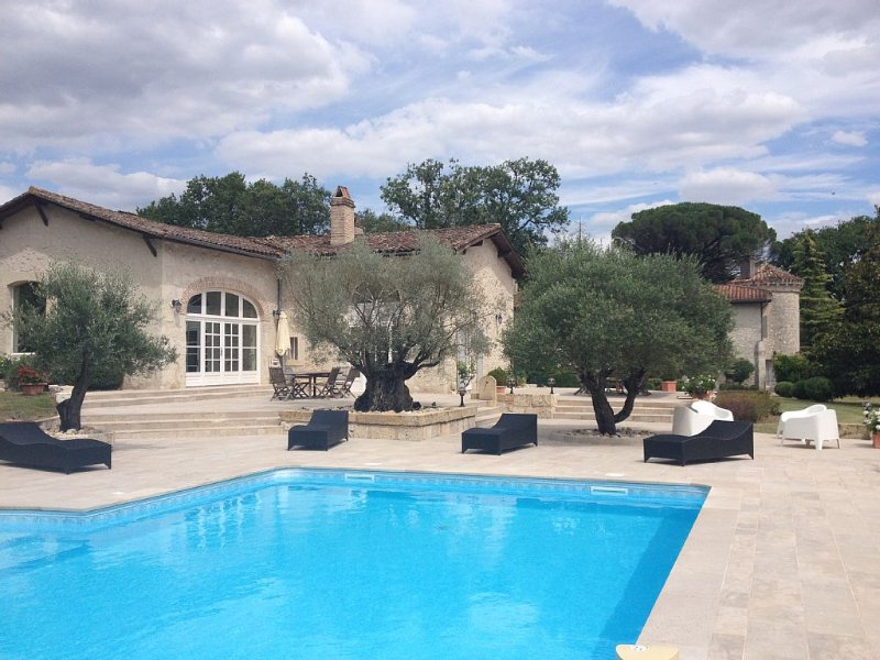 Beau Manoir restauré XVII eme, vacation rental in Casteljaloux
