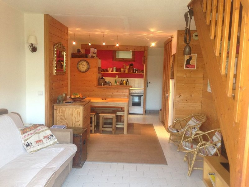 Duplex apartment in Saint-Gervais 6/7 people Martagon, holiday rental in Saint-Gervais-les-Bains