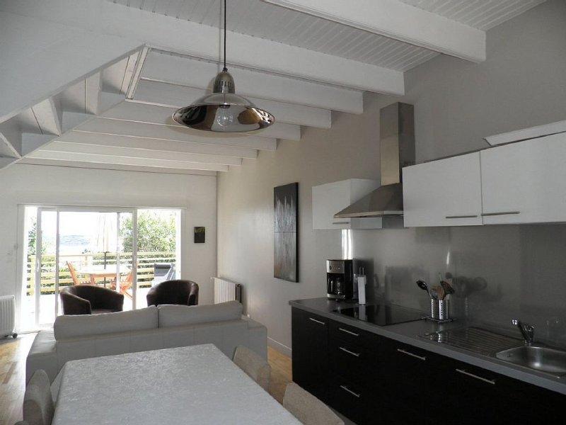 CROZON / ROSCANVEL PRESQU' ILE -   GITE 4 Epis  VUE MER, vacation rental in Roscanvel