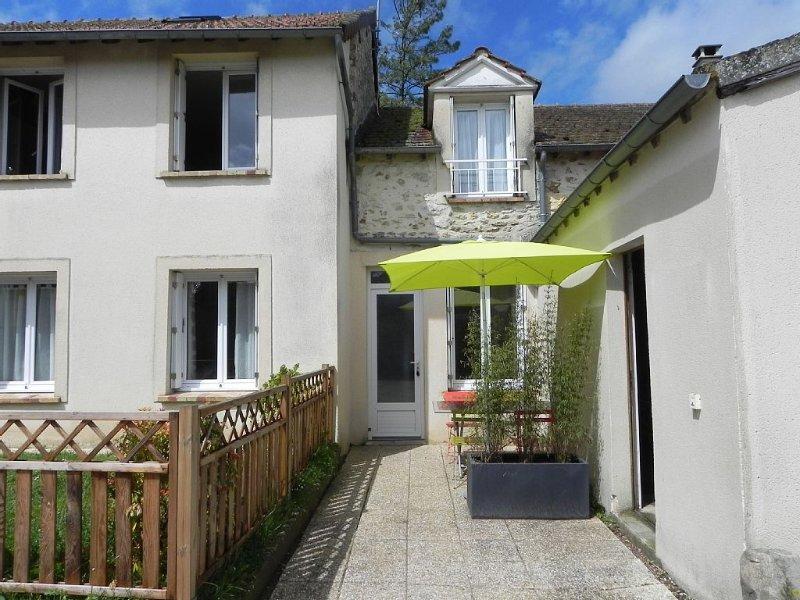 Appart.meublé.2/6 pers.Près de Paris, Chauffour les Etréchy-91580, aluguéis de temporada em Dourdan