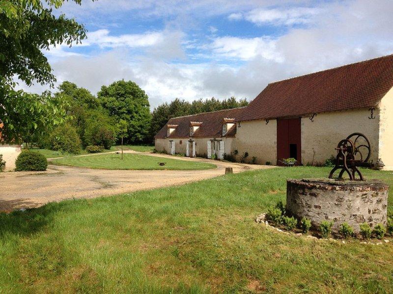 Gite de charme au coeur de la nature solognote, holiday rental in Saint-Hilaire-Saint-Mesmin