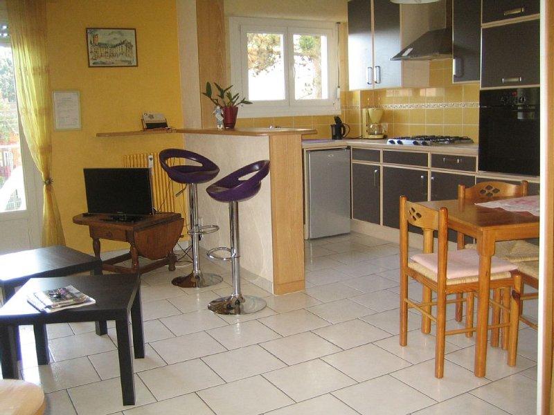 Appartement 3* Dijon Ouest,2 Km Gare et Centre Ville,proche toutes commodités, vacation rental in Chenove