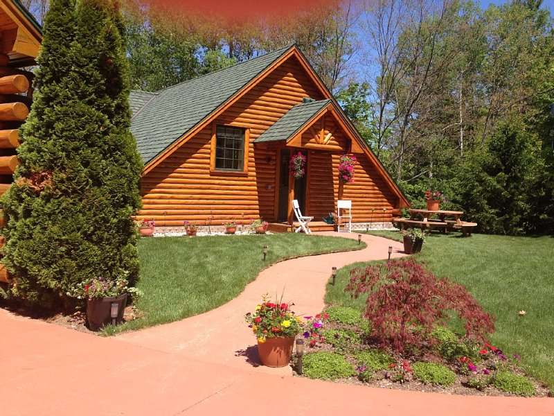 All Seasons Log Cabin Rental, vakantiewoning in Leelanau County