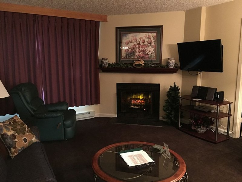 Hanna's Hideaway, Silver Creek Lodge - 2BR, WI-FI, Cable TV ea Room Weekly Rate, location de vacances à Snowshoe