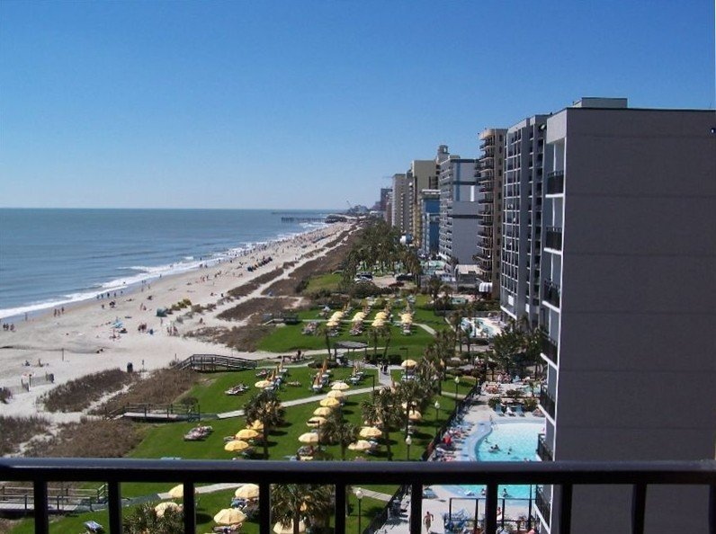 Penthouse, Two Story, 5 Balconies.  Oceanfront w/ Great Views!!  **Pools open**, vacation rental in Myrtle Beach