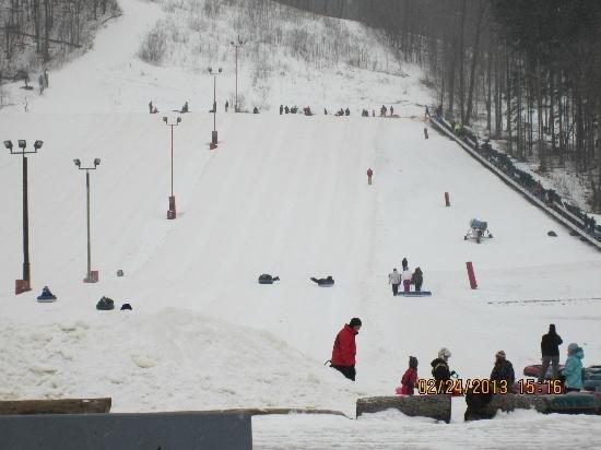 Snow Tubing is FUN!