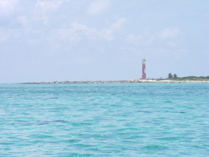 Cozumel Lighthouse welcomes you!
