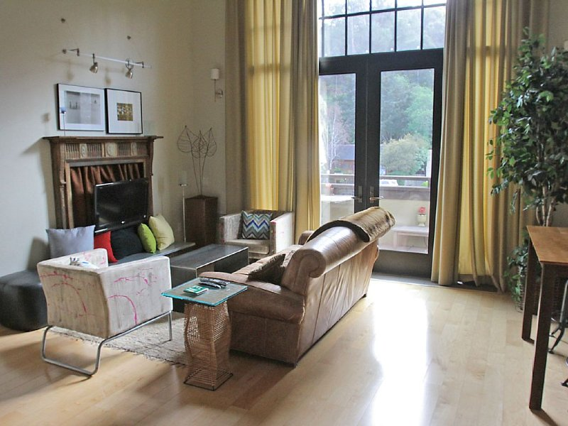 Unique Artist Studio Loft in Mill Valley, California, location de vacances à Marin County