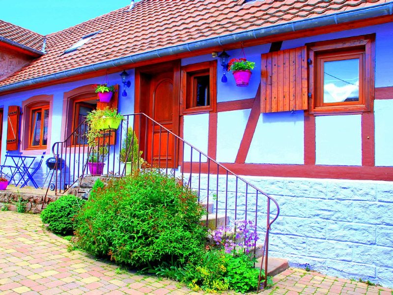 Small nest in typical Alsatian house in the heart of Alsace, casa vacanza a Bas-Rhin