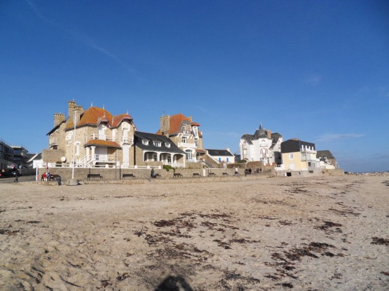 plage de Port Maria bourg de Larmor Plage