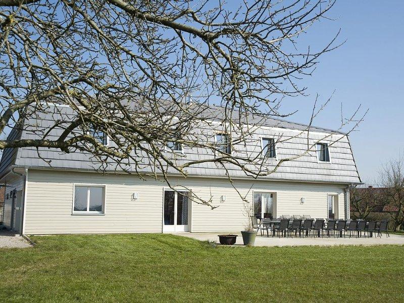 Maison de vacances haut de gamme - Le charme et la tranquilité de la campagne, casa vacanza a Saint-Pol-sur-Ternoise