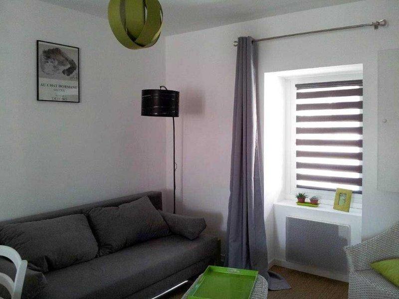 Appartement hypercentre idéalement placé : au calme et proche de la plage Ecluse, vacation rental in Dinard