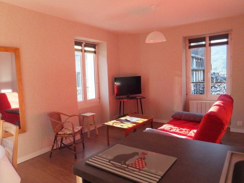 Le Mont Dore, appartement 2 chs , 4 ème etage (ascenseur), plein centre ville, holiday rental in Le Mont-Dore