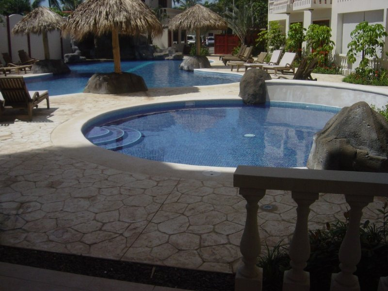 Pools are steps away from our spacious terrace so you can relax in the shade.