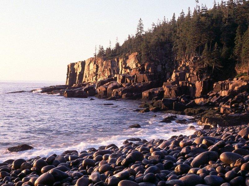Beautiful Otter Cliffs: a favorite shore walk