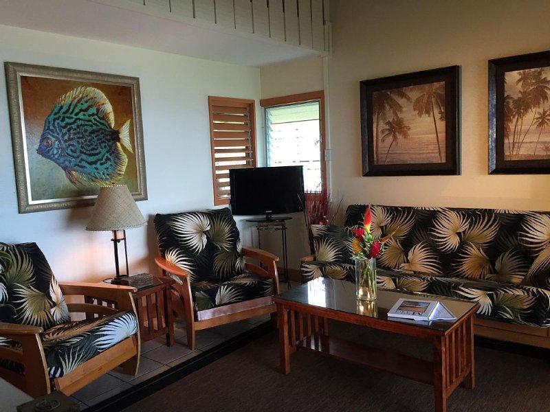 Kailani Suite-  Corner Ocean View 1 BD/1BA, holiday rental in Hana