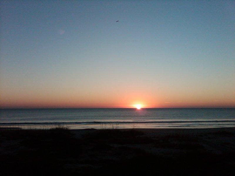 Breathtaking sunrises!
