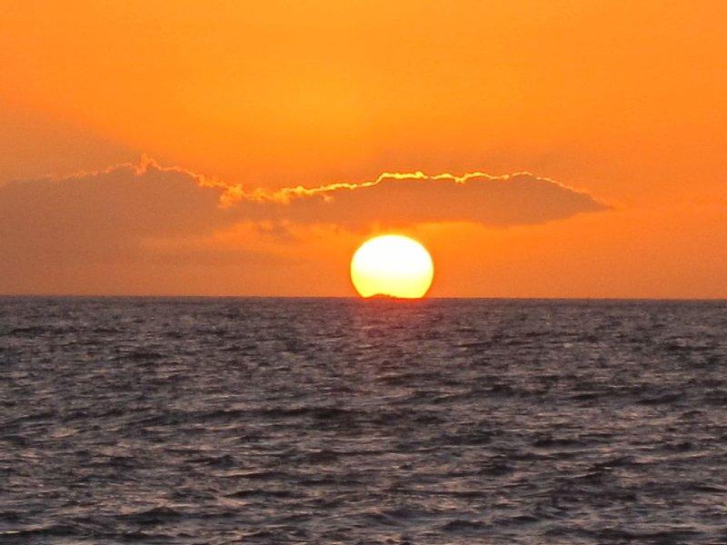 Sunset from Kamaole Beach 1