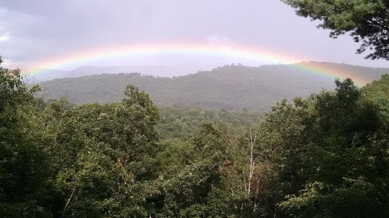 And then there was a rainbow.