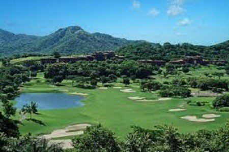The challenging Reserva Conchal Golf Course and a beautiful Mountain View